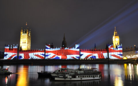 Westminster and the Union Jack - ale - cc
