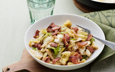 Du bacon and cabbage