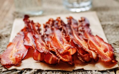 Grilled bacon - Arzamasova