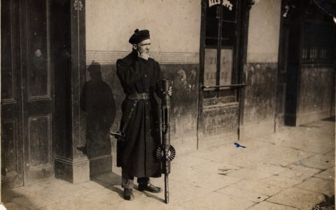 A Black and Tans in Dublin - National Library of Ireland on The Commons - cc
