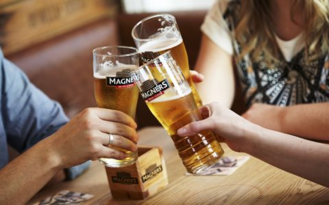 Bulmers Magners pints