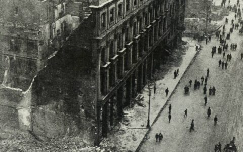 Dublin after the Easter Rising - Public Domain