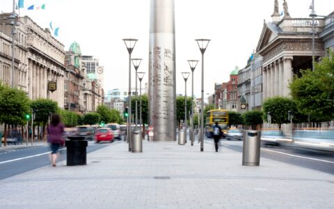 The Spire on O'Connell Street - John Flanagan - cc