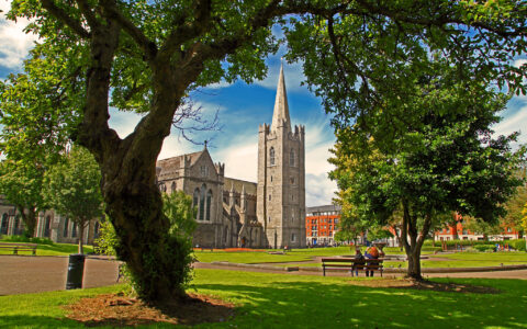 St. Patrick's cathedral in Dublin - Graham Higgs - cc