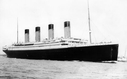 The Titanic - Public Domain