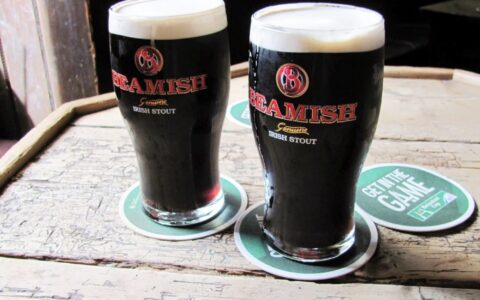 Pints of Beamish
