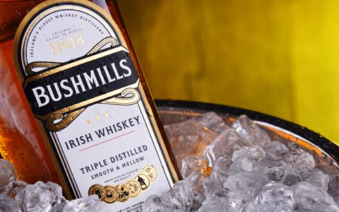 A bottle of Bushmills whiskey - © monticellllo – stock.adobe.com