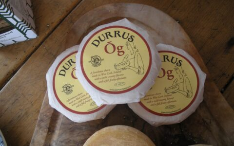 Durrus cheese - eatingthesheepshead.wordpress.com