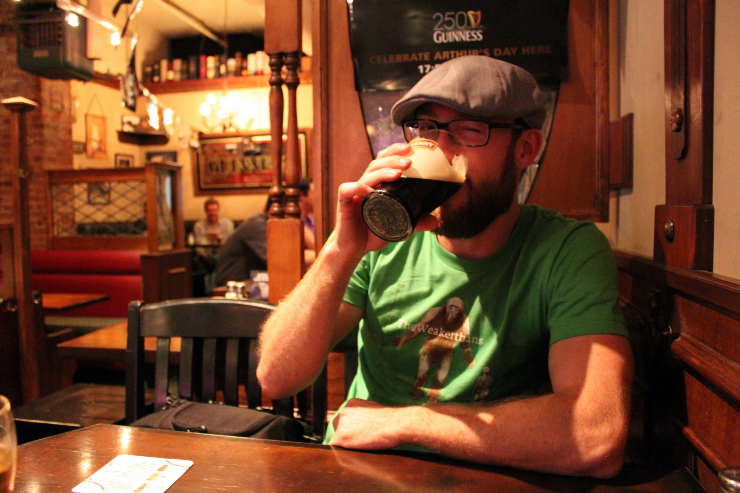 A guy in a irish pub! - RyAwesome - cc