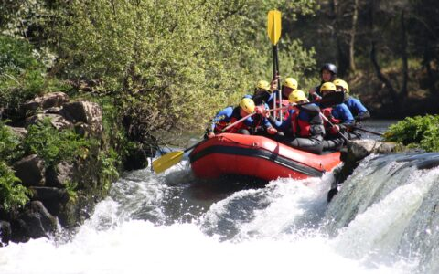 Rafting in Ireland - Public Domain