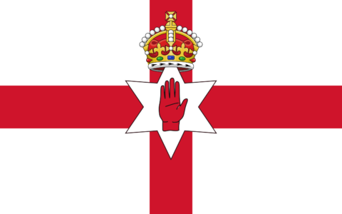 Ulster Flag - Public Domain