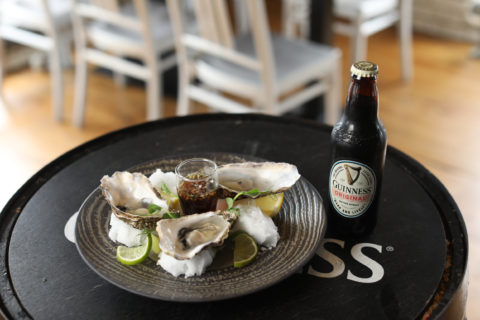 Oysters and Guinness - ©Diageo