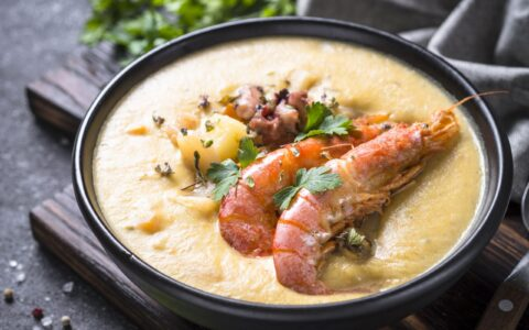 A Seafood Chowder - Envato Elements