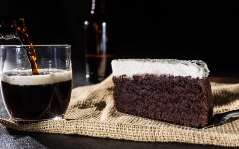 The Chocolate Guinness cake - Shutterstock