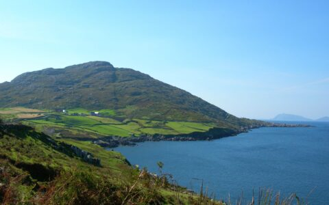 The coast of the Beara Peninsula
