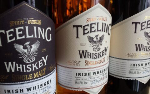 Teeling whiskeys - Fareham Wine - cc