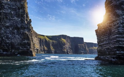The Cliffs of Moher by the sea - ESchweitzer