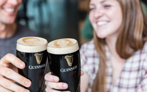 Pints of Guinness, with your portrait!