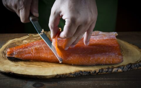 Irish smoked salmon - © Angel Simon