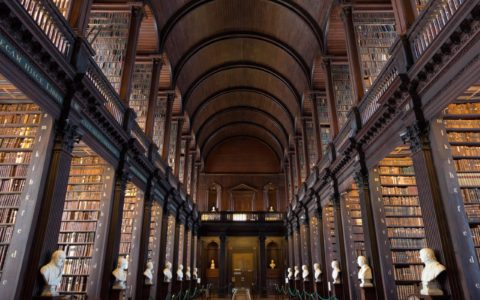 Trinity College Old Library in Dublin - © VanderWolf Images