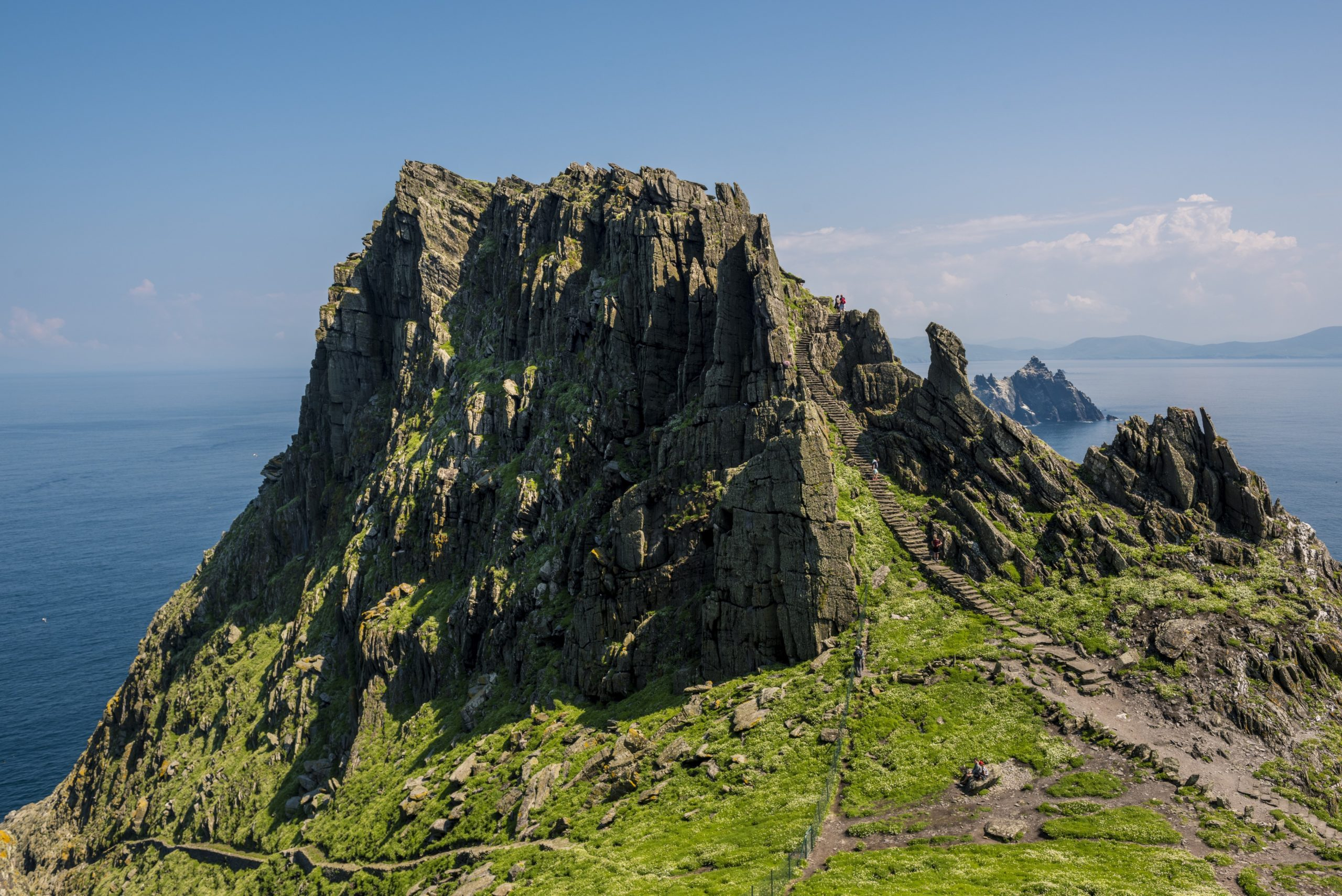 The Steps of Skellig Michael