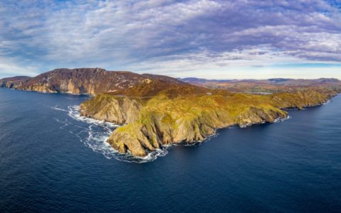 Aerial view of Slieve League - © Lukassek