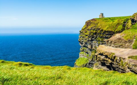 O'Brien's Tower on the Cliffs of Moher - © PhotoFires