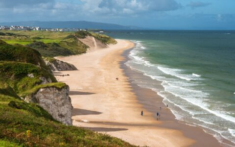 Whiterocks Beach in Portrush -© Monica