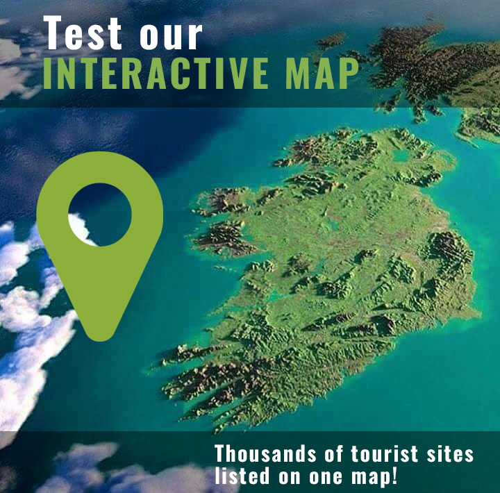 Test our interactive map of Ireland!