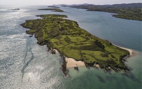Aerial view of Horse Island - Montague Real Estate