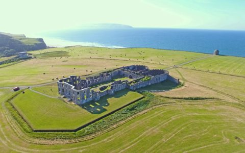 Aerial view of the Downhill House - © peter